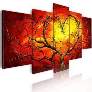 Tableau - Coeur brûlant fait partie des tableaux murales de la collection de worldofwomen découvrez ce magnifique tableau exclusif chez nous