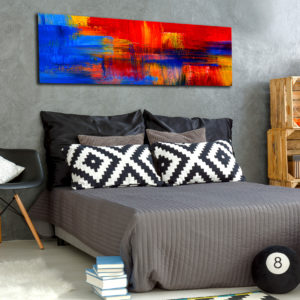 Tableaux > Abstraction > Multicolores ce catalogue des tableaux déco pour tout types de murs et prêt à poser
