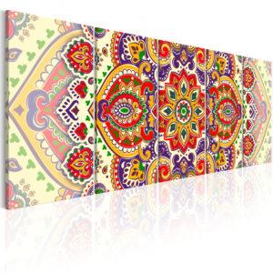Tableau - Colourful Ornament fait partie des tableaux murales de la collection de worldofwomen découvrez ce magnifique tableau exclusif chez nous