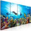 Tableau - Coral Reef (5 Parts) Narrow fait partie des tableaux murales de la collection de worldofwomen découvrez ce magnifique tableau exclusif chez nous