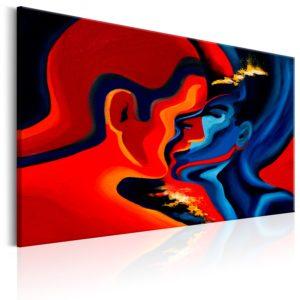 Tableau - Cosmic Kiss fait partie des tableaux murales de la collection de worldofwomen découvrez ce magnifique tableau exclusif chez nous