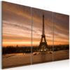 Tableau - Coucher de soleil sur la tour Eiffel fait partie des tableaux murales de la collection de worldofwomen découvrez ce magnifique tableau exclusif chez nous