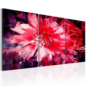 Tableau - Crimson Flowers fait partie des tableaux murales de la collection de worldofwomen découvrez ce magnifique tableau exclusif chez nous