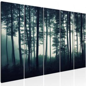 Tableau - Dark Forest (5 Parts) Narrow fait partie des tableaux murales de la collection de worldofwomen découvrez ce magnifique tableau exclusif chez nous