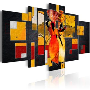 Tableau - Desert Walk fait partie des tableaux murales de la collection de worldofwomen découvrez ce magnifique tableau exclusif chez nous