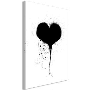Tableau - Destroyed Heart (1 Part) Vertical fait partie des tableaux murales de la collection de worldofwomen découvrez ce magnifique tableau exclusif chez nous