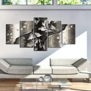 Tableaux > Abstraction > Noirs et blancs ce catalogue des tableaux déco pour tout types de murs et prêt à poser