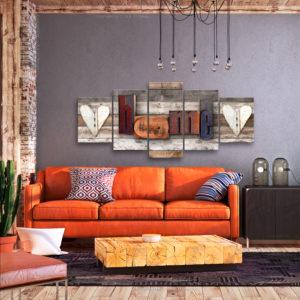 Tableaux > Vintage ce catalogue des tableaux déco pour tout types de murs et prêt à poser
