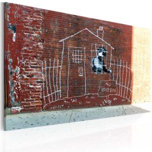 Tableau - Enfermé fait partie des tableaux murales de la collection de worldofwomen découvrez ce magnifique tableau exclusif chez nous