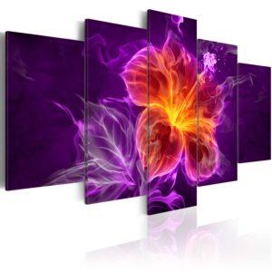 Tableau - Esoteric flower fait partie des tableaux murales de la collection de worldofwomen découvrez ce magnifique tableau exclusif chez nous
