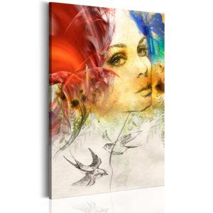 Tableau - Femme ardente fait partie des tableaux murales de la collection de worldofwomen découvrez ce magnifique tableau exclusif chez nous
