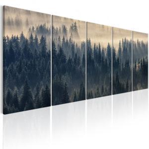 Tableau - Fir in the Fog fait partie des tableaux murales de la collection de worldofwomen découvrez ce magnifique tableau exclusif chez nous