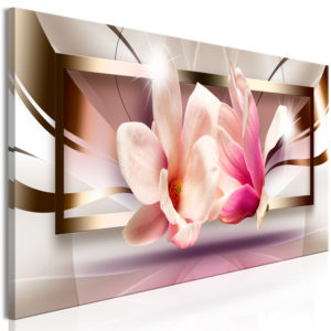 Tableau - Flowers outside the Frame (1 Part) Narrow fait partie des tableaux murales de la collection de worldofwomen découvrez ce magnifique tableau exclusif chez nous