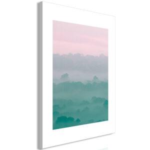 Tableau - Foggy Dawn (1 Part) Vertical fait partie des tableaux murales de la collection de worldofwomen découvrez ce magnifique tableau exclusif chez nous