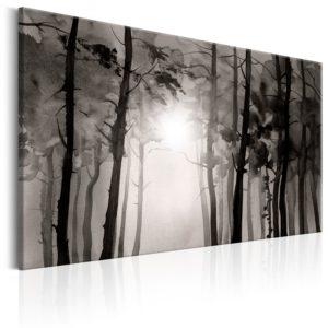 Tableau - Foggy Forest fait partie des tableaux murales de la collection de worldofwomen découvrez ce magnifique tableau exclusif chez nous