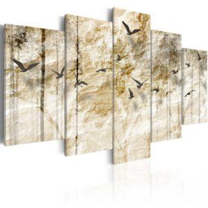Tableau - Forêt en papier fait partie des tableaux murales de la collection de worldofwomen découvrez ce magnifique tableau exclusif chez nous