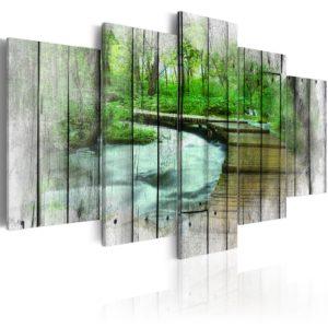 Tableau - Forest of Secrets fait partie des tableaux murales de la collection de worldofwomen découvrez ce magnifique tableau exclusif chez nous