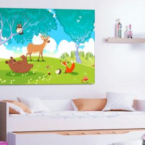 Tableaux > Pour enfants ce catalogue des tableaux déco pour tout types de murs et prêt à poser