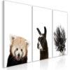 Tableau - Friendly Animals (Collection) fait partie des tableaux murales de la collection de worldofwomen découvrez ce magnifique tableau exclusif chez nous