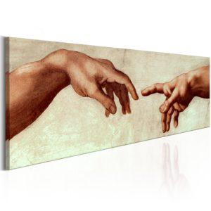 Tableau - God's Finger fait partie des tableaux murales de la collection de worldofwomen découvrez ce magnifique tableau exclusif chez nous