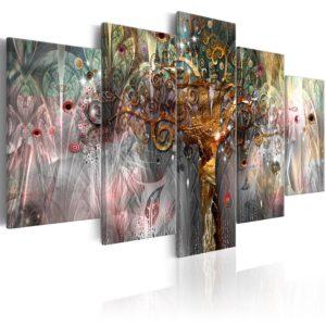 Tableau - Golden Tree II fait partie des tableaux murales de la collection de worldofwomen découvrez ce magnifique tableau exclusif chez nous