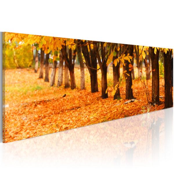 Tableau - Golden leaves fait partie des tableaux murales de la collection de worldofwomen découvrez ce magnifique tableau exclusif chez nous