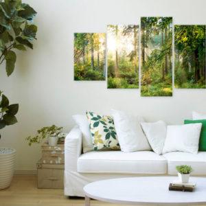 Tableaux > Paysages > Forêt ce catalogue des tableaux déco pour tout types de murs et prêt à poser