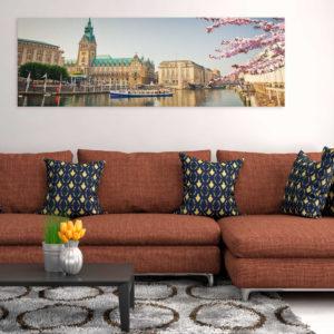 Tableaux > Villes > Hambourg ce catalogue des tableaux déco pour tout types de murs et prêt à poser