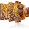 Tableau - Histoires africaines fait partie des tableaux murales de la collection de worldofwomen découvrez ce magnifique tableau exclusif chez nous