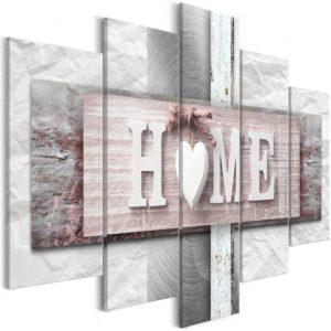 Tableau - Home: Eclecticism (5 Parts) Wide fait partie des tableaux murales de la collection de worldofwomen découvrez ce magnifique tableau exclusif chez nous