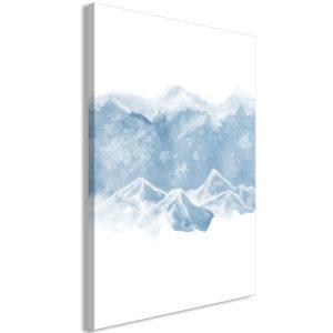 Tableau - Ice Land (1 Part) Vertical fait partie des tableaux murales de la collection de worldofwomen découvrez ce magnifique tableau exclusif chez nous