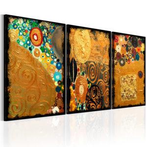 Tableau - Imagination dorée fait partie des tableaux murales de la collection de worldofwomen découvrez ce magnifique tableau exclusif chez nous