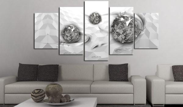 Tableaux > Abstraction ce catalogue des tableaux déco pour tout types de murs et prêt à poser