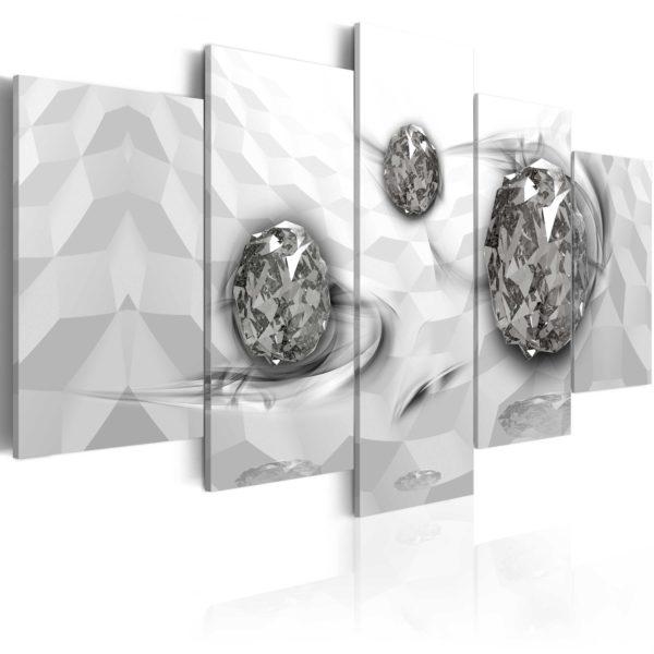 Tableau -  Immersed Silver fait partie des tableaux murales de la collection de worldofwomen découvrez ce magnifique tableau exclusif chez nous