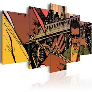 Tableau - Jazz à NYC fait partie des tableaux murales de la collection de worldofwomen découvrez ce magnifique tableau exclusif chez nous