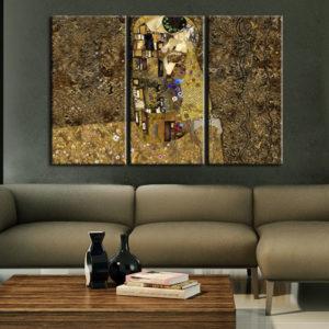 Tableaux > Tableau stylisé > Klimt ce catalogue des tableaux déco pour tout types de murs et prêt à poser