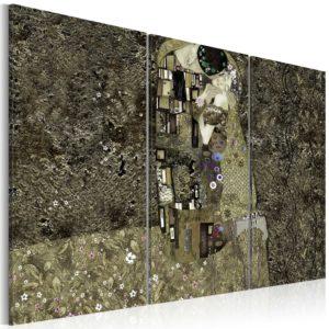 Tableau -  Klimt inspiration - Love fait partie des tableaux murales de la collection de worldofwomen découvrez ce magnifique tableau exclusif chez nous