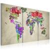 Tableau - Leçon de géographie fait partie des tableaux murales de la collection de worldofwomen découvrez ce magnifique tableau exclusif chez nous