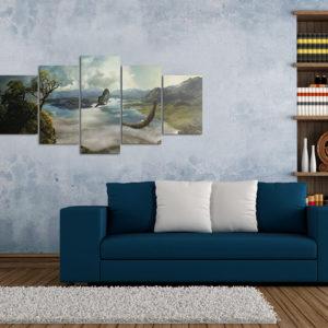 Tableaux > Paysages > Montagne ce catalogue des tableaux déco pour tout types de murs et prêt à poser