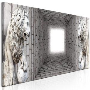 Tableau - Light in the Tunnel (1 Part) Narrow fait partie des tableaux murales de la collection de worldofwomen découvrez ce magnifique tableau exclusif chez nous