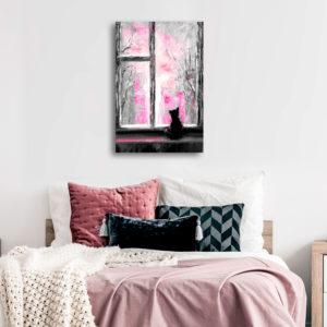 Tableaux > Animaux > Chats ce catalogue des tableaux déco pour tout types de murs et prêt à poser