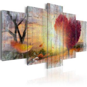 Tableau - Lovers' Autumn fait partie des tableaux murales de la collection de worldofwomen découvrez ce magnifique tableau exclusif chez nous
