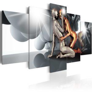 Tableau - Lovers of the Future fait partie des tableaux murales de la collection de worldofwomen découvrez ce magnifique tableau exclusif chez nous