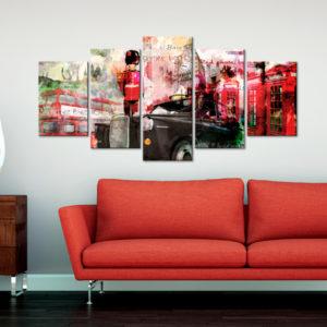 Tableaux > Villes > Londres ce catalogue des tableaux déco pour tout types de murs et prêt à poser