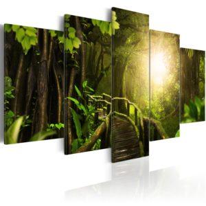 Tableau - Magical Jungle fait partie des tableaux murales de la collection de worldofwomen découvrez ce magnifique tableau exclusif chez nous