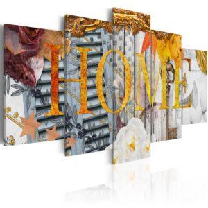 Tableau - Maison fait partie des tableaux murales de la collection de worldofwomen découvrez ce magnifique tableau exclusif chez nous
