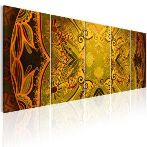 Tableau - Mandala: Flowery Wings fait partie des tableaux murales de la collection de worldofwomen découvrez ce magnifique tableau exclusif chez nous