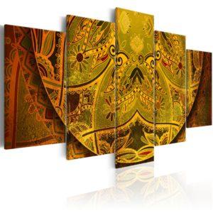 Tableau - Mandala: force d'or fait partie des tableaux murales de la collection de worldofwomen découvrez ce magnifique tableau exclusif chez nous