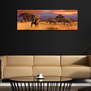 Tableaux > Tableau africain et ethnique > Animaux ce catalogue des tableaux déco pour tout types de murs et prêt à poser