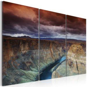 Tableau - Nuages au-dessus du Grand Canyon fait partie des tableaux murales de la collection de worldofwomen découvrez ce magnifique tableau exclusif chez nous